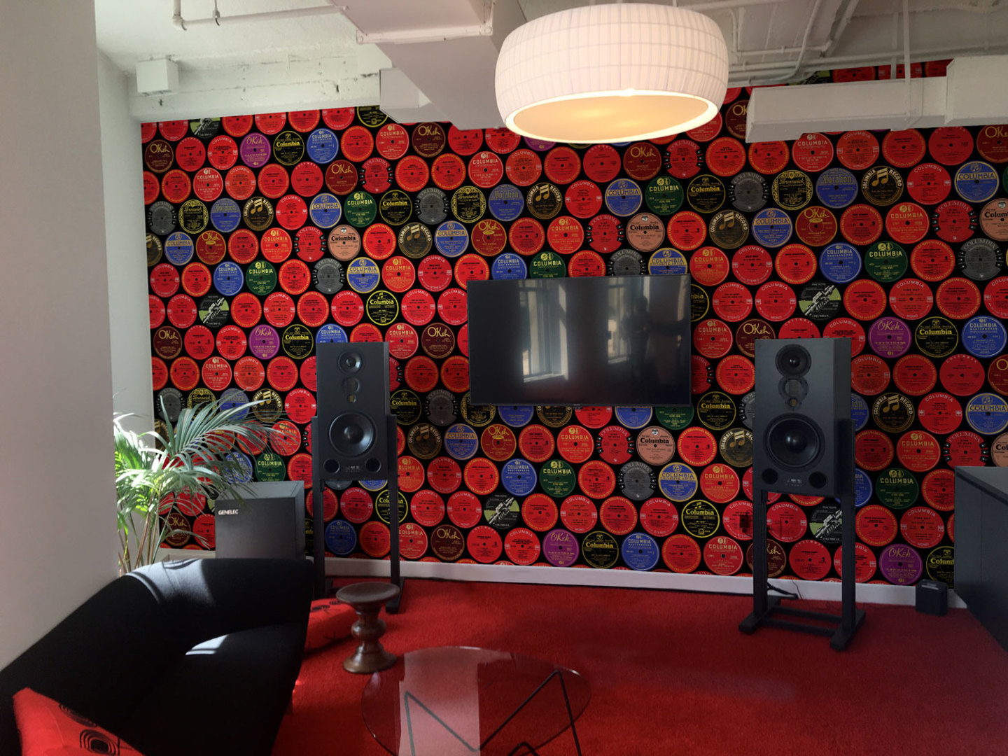 Fine Print Portfolio Image of Wallpaper for Sony A&R Lounge
